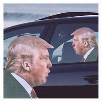 Window Sticker Ride with Trump Biden Trump 2020 Decals Republicans Vinyl Car