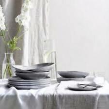 Portobello 12 Piece Gray Dinner Set, Dinner & Side Plate, Pasta Bowl, etc