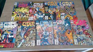 Force Works 1-9 - 9.0 - 9 issue Set - Marvel - 1994