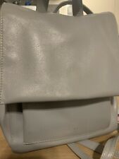 Radley Grey Leather Backpack Style Bag