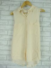 WITCHERY Top/blouse Sz 10 Nude