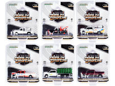 """""""Dually Drivers"""" Series 7, Set Of 6 Trucks 1/64 Diecast Cars By Greenlight 46070"""