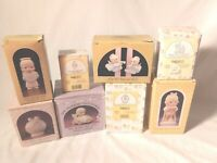 Precious Moments Lot Of 8 Assorted Figurines