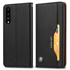 For Huawei P20 /Pro/Lite Shockproof Full Cover Magnetic Flip Leather Wallet Case