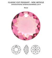 NEW Genuine SWAROVSKI 6430 Classic Cut Crystal Pendants * Many Colors & Sizes