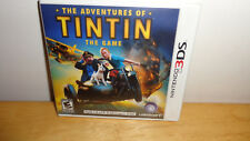The Adventures of Tintin: The Game (Nintendo 3DS, 2011) Brand NEW & Sealed!