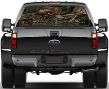 Beaver Lake Woods Painting Rear Window Graphic Decal  Truck Van
