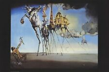 SALVADOR DALI ~ TEMPTATION OF ST ANTHONY 24x36 ART POSTER  Fine Print Saint