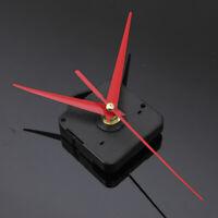 Silent Red&Black Clock Quartz Movement Mechanism Clock DIY Kit Repair Part Tools