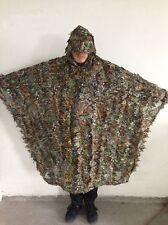 3D Breathable Leaf Yowie Ghillie Sniper Birdwatching Poncho Suit/Cloak/manteau