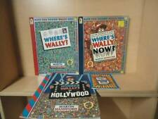 MARTIN HANDFORD - LOT OF 4 BOOKS - WHERE'S WALLY, WHERE'S WALLY NOW! +
