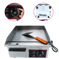 1500W Electric Griddle Kitchen BBQ Grill Countertop Flat Top Grill Hotplate New!