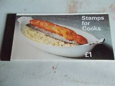 1969 Stamps For Cooks Prestige Booklet Sg Zp1a Cat £6.50