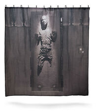 New Licensed * STAR WARS * - HAN SOLO IN CARBONITE - Shower Curtain w/ Hooks