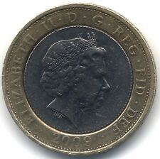 2009 Two Pounds***Robert Burns***Collectors***