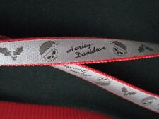 "Harley-Davidson Holiday Christmas Dog Leash 5/8""  4'length Reflective NEW H6464"