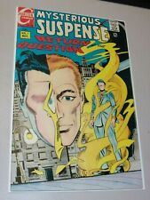 Mysterious Suspense #1, October 1968 1st Appearance of The Question Charlton