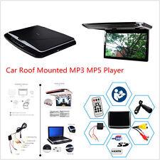 """12.1"""" HD auto suv tetto Overhead MONITOR MP5 CON LETTORE DVD HDMI SD AV telecomando"""