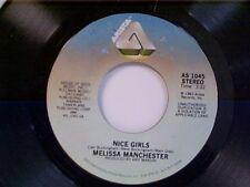 "MELISSA MANCHESTER ""NICE GIRLS / HEY RICKY"" 45 NEAR MINT"