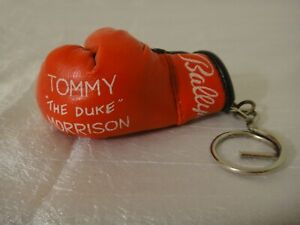 "Tommy ""The Duke"" Morrison Key Chain Boxing Glove Bally's"