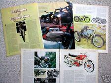 vintage ARIEL MOTORCYCLE Article/Photos/Picture's: SQUARE 4