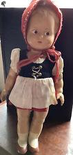 Vintage Antique Steha West Germany Girl Doll 10� Composition