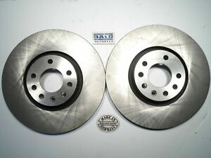 Brake Rotors Front Fits Saab 9-3 2004-2010 New Balo Brand  (QTY 2)  24 435 132 B