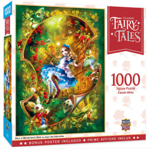 Fairy Tales: Alice in Wonderland 1000 piece jigsaw puzzle 680mm x 489mm (mpc)