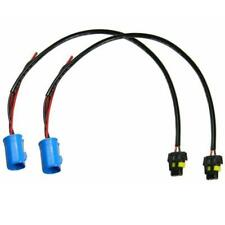2x 9007 Male To 9006 Female Wire Harness Socket for HID Conversion Kit Adapter