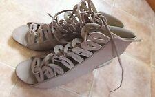 Studio TMLS mid  Wedge lace  gladiator sandal size 37