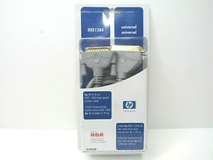 HP 6 FT IEEE 1284 High Speed Printer Cable Universal Bi Directional Scanners NEW