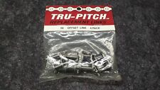 New! TRU-PITCH Replacement Links #50 Offset Link 4-Pack, New Old Stock