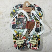 Star Wars Flip Flops Size 13 USA 47/48 EUR Mens Havaianas Sandals Comic Book New