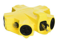 Coleman 997362 Yellow-Jacket 5 Outlet Outdoor Adapter