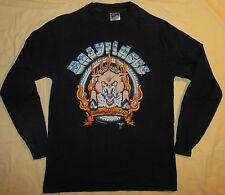Rare Vtg 1994 Easy Riders Road Hog Biker Shirt Long Sleeve Motorcycle Mens M