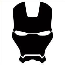 Iron Man Vinyl Decal / Sticker - Choose Color & Size - Avengers