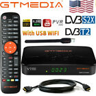 GTMEDIA V7Pro FTA Satellite Receiver TV Box DVB-S/S2X HD USB Wifi Youtube H.265