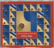 CHRIS REA / JOHNNY NEEDS A FAST CAR * NEW MAXI CD * NEU *
