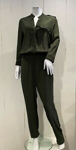 Women's Tommy Hilfiger Military Green Jumpsuit