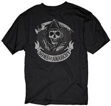 Sons Of Anarchy Circle Reaper Logo Samcro Soa T Shirt M