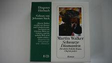 Martin Walker - Schwarze Diamanten - 8 CD - Diogenes Hörbuch