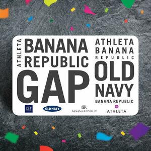 Gap Banana Republic Old Navy Gift Card $10