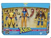 MARVEL LEGENDS X-MEN WOLVERINE CYCLOPS JEAN GREY LOVE TRIANGLE 3 PACK NEW IN BOX