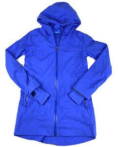 IVIVVA Girl's Full Zip Jacket Blue Sz 12 thumbholes Full Zip Hooded By Lululemon