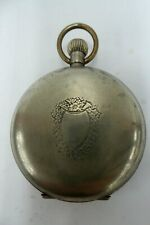 ANTIQUE HUNTER POCKET FOB WATCH SHEPPO CHRONOMETER LEVER - ESTATE LOT