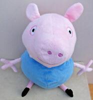 "Peppa Pig's 18"" GEORGE PIG Soft Plush Toy"
