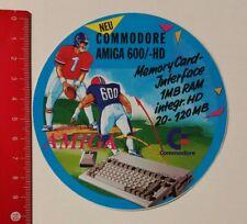 Autocollant/sticker: Commodore Amiga 600/- HD carte mémoire-Interface (04041722)