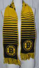 Unisex Boston Bruins Official NHL Striped Rugby Scarf By Forever Collectibles