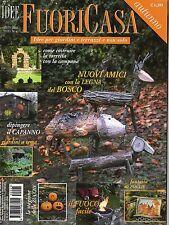 Idee FuoriCasa 2015 45 settembre#Nuovi amici con la legna del bosco,qqq