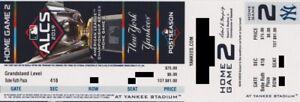 NEW YORK YANKEES v HOUSTON ASTROS TICKET ALCS GAME 4 STUB 10/16/2019 @ YANK STAD
